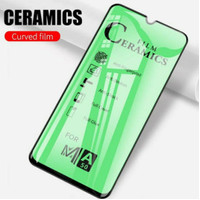 SAMSUNG A10 TEMPERED GLASS CERAMIC FILM FULL COVER LAYAR