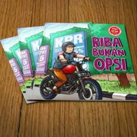 Booklet Komik RIBA BUKAN OPSI - RBO karya Squ Pengen Jadi Baik PJB