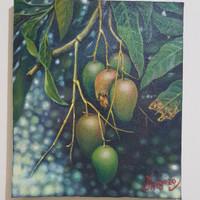 Lukisan Buah Mangga uk. 48x38,5cm