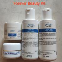 Primanesse paket acne white glow 2 isi 4 - jerawat & bekas jerawat