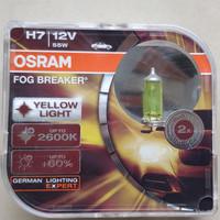 Bohlam Lampu Kuning OSRAM H7 FBR Fog Breaker 12V 55W