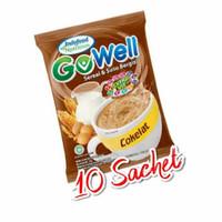 gowell sereal susu cokelat renceng isi 10
