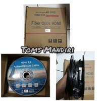 Kabel Hdmi 2.0 fiber Optic 50 Meter Support 4K UHD