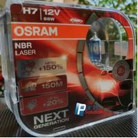 Bohlam Lampu OSRAM H7 NBR Night Breaker LASER Next Gen 12V 55W