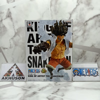 Action Figure Monkey D Luffy Gear 4 SnakeMan King Of Artist ORIGINAL