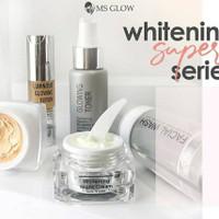 Msglow Paket Wajah+serum original free makeup box