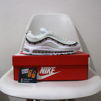 Sepatu Nike Air Max 97 x Undefeated White - Premium Quality