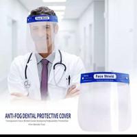 face shield medis pelindung wajah Mika warna biru