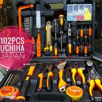 Tool kit 102pcs full set Toolset Toolbox box uchiha perkakas bosch