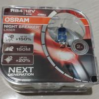Bohlam OSRAM HB4 NBR Night Breaker LASER NEXT GEN 150% 12V 51W