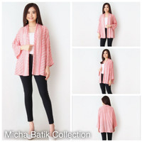 Outer batik paris: Cardigan Soft Motif