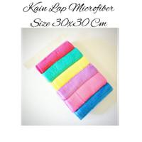 Kain Lap Microfiber 30cmx30cm