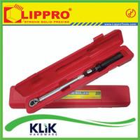 "Lippro Kunci Torsi - Kunci Momen - Torque Wrench 1/2"" 40-210 Nm"