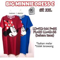 Big Minnie Dress C Terusan Wanita Ukuran Bigsize Besar
