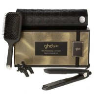 GHD Gold Professional Styler Smooth Styling Gift Set Brush Catokan