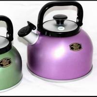 teko bunyi warna maspion / wishtling kettle rigoletto 5 liter