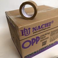 lakban coklat NACHI 48mm [1 dus = 72 pcs]