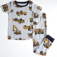 setelan baju anak laki-laki impor original motif lucu bahan adem