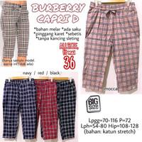 B*rberry Capri D size 36 Celana Tanggung Betis Wanita Size Jumbo Rumah