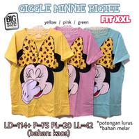 Giggle Minnie Bigtee XXL Kaos Jumbo Wanita BigSize