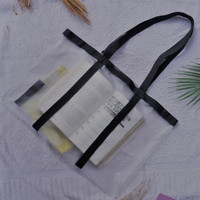 nadiSSSE Tote Bag Transparan bisa isi banyak barang kesayangan