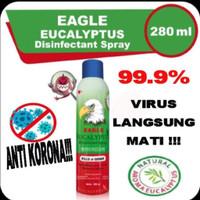 CAP LANG EAGLE EUCALYPTUS DISINFECTANT SPRAY 280 ML