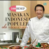 buku resep masakan indonesia populer Yongki Gunawan (HC)