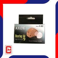 Alat Pendengaran Hearing Aid Axon K 80 Tanpa Kabel ITE