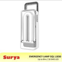 SURYA lampu emergency LED sql l1830 flash light