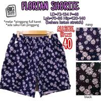 Florian Shortie size 40 Celana Pendek Wanita Jumbo Big Santai