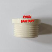 Plok sock PLASTIK 3/4 in Ke 1/2 Inch S03-Plot Sok mur nepel fitting