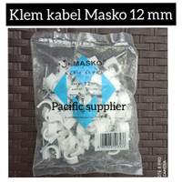 Klem Kabel/Klem Paku/Klem Supra/Klem Kabel Masko 12 mm