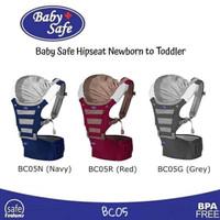 babysafe hipseat carrier - baby safe hip seat - gendongan bayi (Navy)