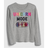 Baju Kaos Anak GAP Kids Flip Sequin Original Unicorn Mode