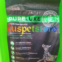 Makanan Anjing/ Pureluxe Grain Free Holistic Puppy Turkey&Salmon 1.8kg