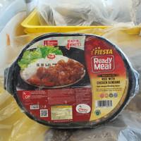 FIESTA READY MEAL CHICKEN RENDANG WITH RICE 320 GR AYAM NASI BEKU