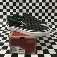 Vans Slip On Checkerboard Pewter Original / Slip On Grey