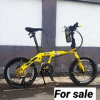 Jual Sepeda Lipat Modifikasi Murah Harga Terbaru 2020 Tokopedia