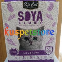pasir kucing soya clump lavender 7L