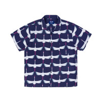 SKYMO APPAREL SHIRT FLAMINGO NAVY
