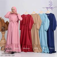 Cyra jumbo dress/dress jumbo/fashion muslim/gamis wanita