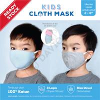 Masker Kain Anak 3ply Premium Quality. GROSIR SUPER MURAH!