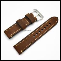 tali jam tangan kulit 20mm ,22mm - leather strap premium Quality