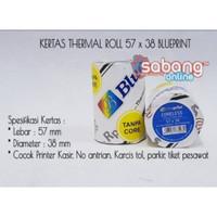 KERTAS THERMAL / KERTAS STRUK 57X38 BLUEPRINT