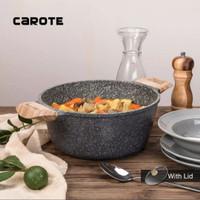 Carote Casserole Panci Anti Lengket With Lid 24 Cm