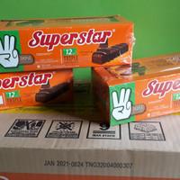 Super star wafer coklat 216gr