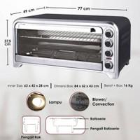 PO Oven Galaxy Signora 75L + free kategori 6