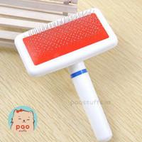 sisir sikat bulu anjing kucing kelinci pet brush pin comb grooming