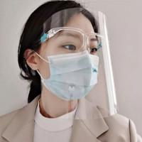 FACESHIELD / Face Shield Kacamata / APD Mask / Safety Mask