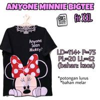 Anyone Minnie Bigtee XXL Kaos Wanita Bigsize Rumah Santai